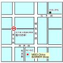 上海浦東の散髪屋MISO CHINA BARBER SHOPの地図 ※古い情報です