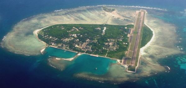 Spratly Islands 南沙諸島の人工島