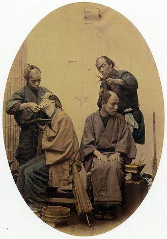 江戸時代の床屋