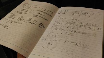 美容室で日本語学習アシスタント
