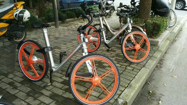自転車上海中国レンタル