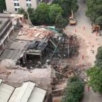 上海市中心部ビル倒壊事故(場所昭化路148号)